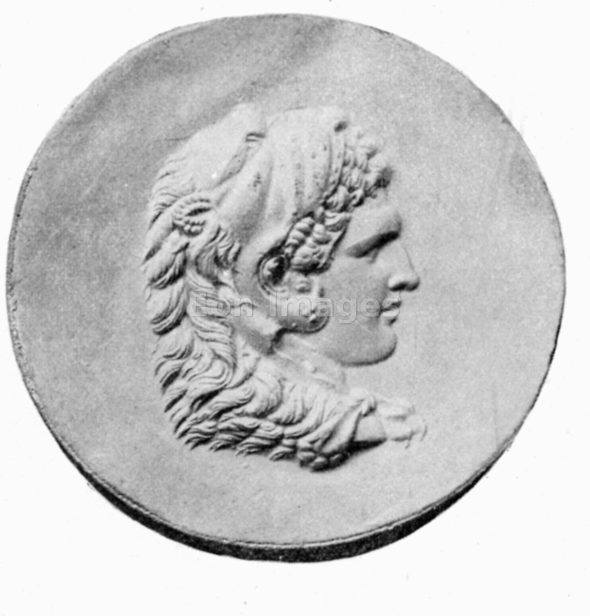 Coin depicting Alexander the Great