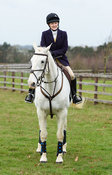 Charlotte Watson At the meet. The Cottesmore Hunt at Bleak House 18/12