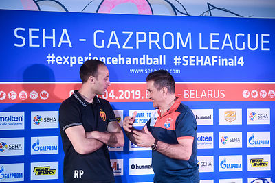 Semi Final 2 - Vardar vs Meshkov Brest