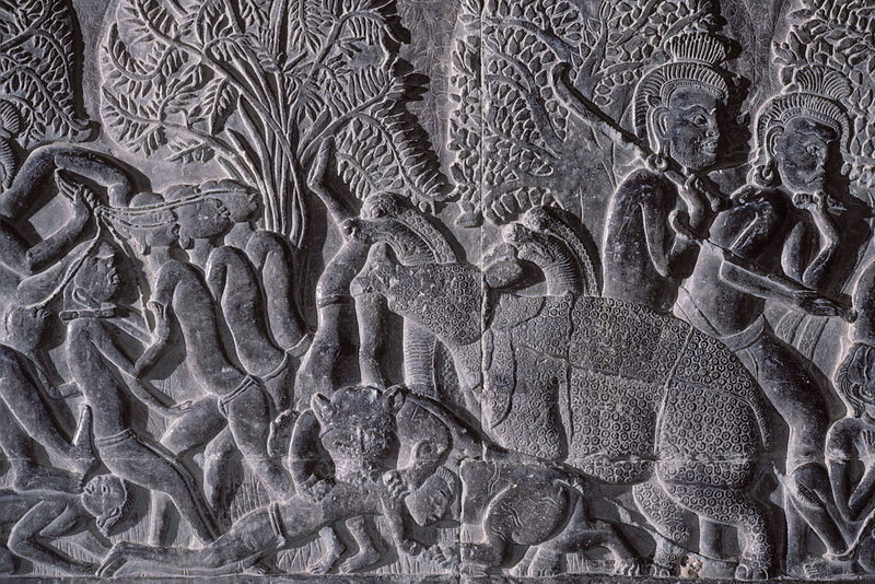 Hell bas relief