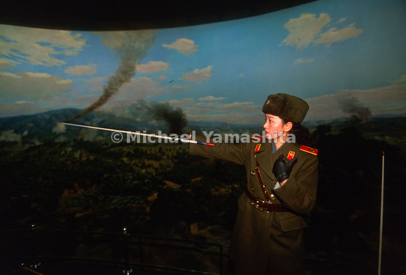Victorious Fatherland Liberation War Museum, Pyongyang, North Korea