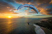 Flying at Sunset with Felix Rodriguez