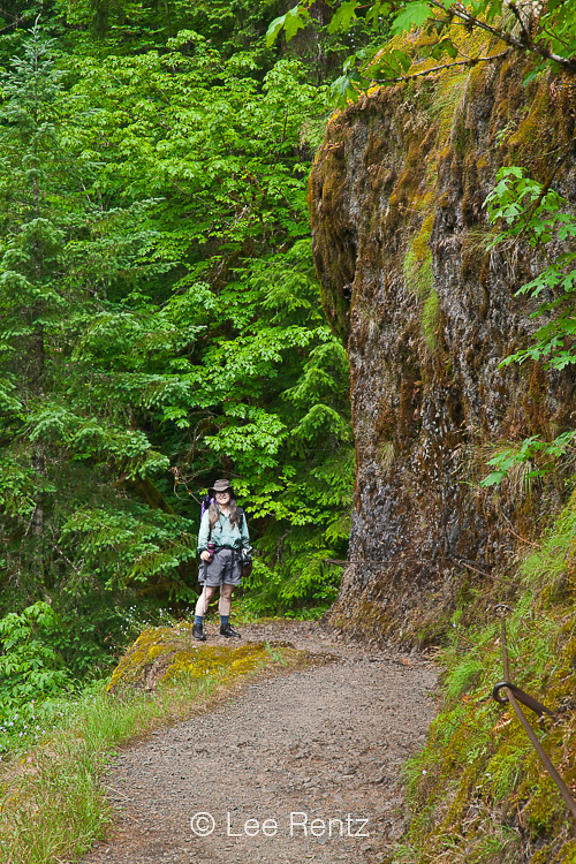 Karen Rentz on Eagle Creek Trail