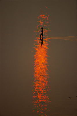 Boy at the Mekong