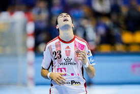 Cristian Ugalde during the Final Tournament - Final Four - SEHA - Gazprom league, Gold Medal Match Vardar - Telekom Veszprém,...