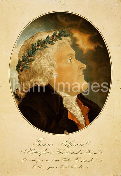 Thomas Jefferson, a philosopher, a patriote [sic], and a friend