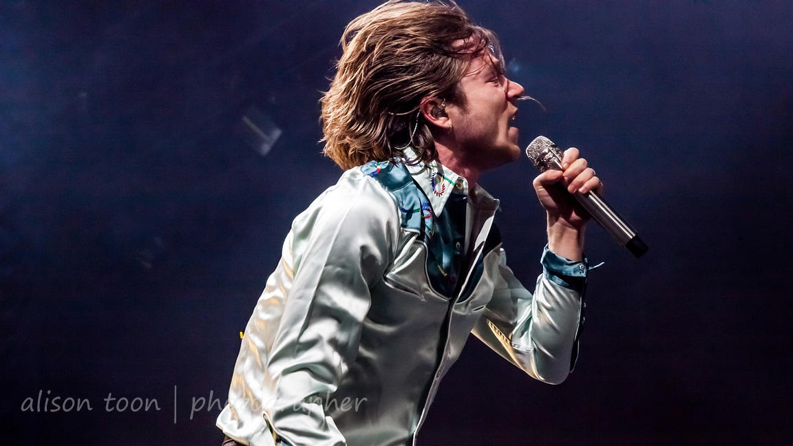 Matt Shultz, vocals, Cage The Elephant
