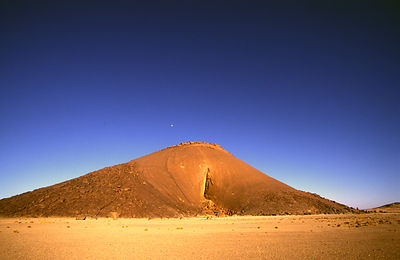 Mauritania - Sahara Desert - Ben Amera, the World's second largest monolith