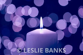 Purple Candlelight