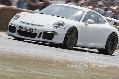 Porsche 911 GT3 (3.8-litre flat-6, 2013) - Celebrating 50 years of the Porsche 911 at Goodwood Festival of Speed 2013