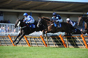 4.30pm 31st August 2013 Handicap Hurdle with winner Tarvini