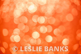 Orange bokeh background