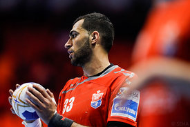 Iman Jamali during the Final Tournament - Final Four - SEHA - Gazprom league, Bronze Medal Match Meshkov Brest - PPD Zagreb, ...