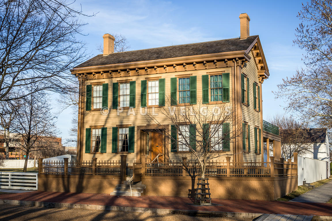 Abraham Lincoln Home in Springfield Illinois