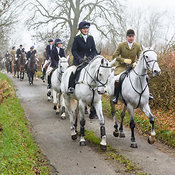 The Wynnstay Hounds visit The Cottesmore, Owston 27/11