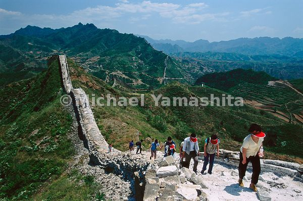 The precipitous stone-and-brick Simatai section of the wall includes such whimsically named sections as the Fairy Tower and H...