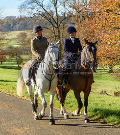 Rebecca Vernon, Lady Violet Manners on the Belvoir Estate. The Belvoir Hunt at the Kennels 13/11