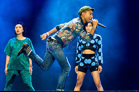 Pharrell Williams @ Pinkpop 2015