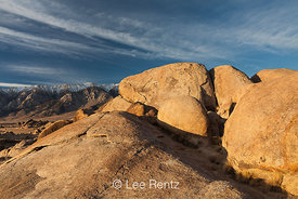 Spheroidal Weathered Granite of Alabama Hills