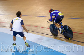 Women's Individual Pursuit C1-5 Finals. Track Day 2, Toronto 2015 Parapan Am Games, Milton Pan Am/Parapan Am Velodrome, Milto...