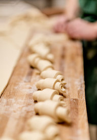 Danish pastries being made in Thy 8