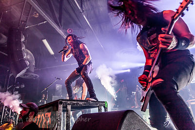 Chad Gray, vocals, and Christian Brady, guitar, HELLYEAH