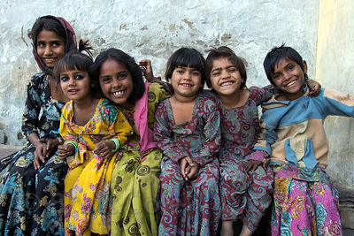 Beautiful people from the farming village of Kharekhari, Rajasthan, India. These are all good friends of mine.