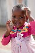 Girl, Imizamo Yethu township, Hout Bay, Cape Town, South Africa