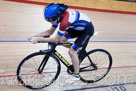 U17 Men Individual Pursuit Final. 2016/2017 Track O-Cup #3/Eastern Track Challenge, Mattamy National Cycling Centre, Milton, ...