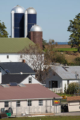 Splendid farms in Amish country, Lancaster, Pennsylvania