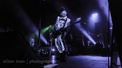 Daniel Ash, vocals, guitar and sax, Poptone