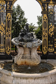Fontaine, Place Stanislas à Nancy