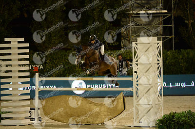 Malin BARYARD-JOHNSSON ,(SWE), H&M TORNESCH 1042 during Furusiyya FEI Nations Cup Jumping Final competition at CSIO5* Barcelo...