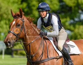 Nini French and STORM CRUISE, Fairfax & Favor Rockingham Horse Trials 2018