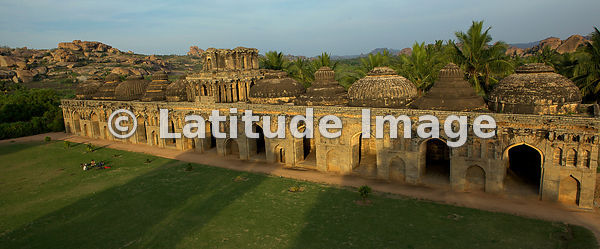 Hampi, Royal Enclosure, Elephant Stables