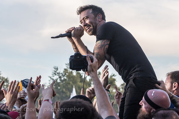 Rise Against at Louder Than Life 2017