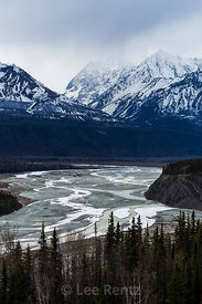Matanuska River Valley  Northeast of Anchorage