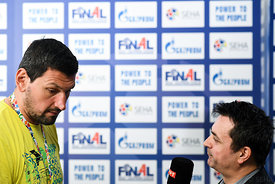 Arpad Sterbik of Vardar during the Final Tournament - Media Meeting - Final Four - SEHA - Gazprom league, Skopje, 14.04.2018,...