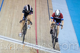 U17 Women Sprint 1-2 Final. Ontario Track Championships, Mattamy National Cycling Centre, Milton, On, March 4, 2017
