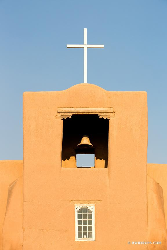 SAN MIGUEL MISSION CHURCH SANTA FE NEW MEXICO VERTICAL
