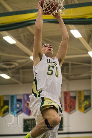 Iowa City West vs Dubuque Senior Boys Basketball January 4, 2013