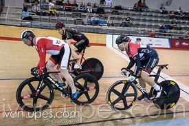 Master A Men Keirin Round 1 Ontario Track Provincial Championships, March 6, 2016