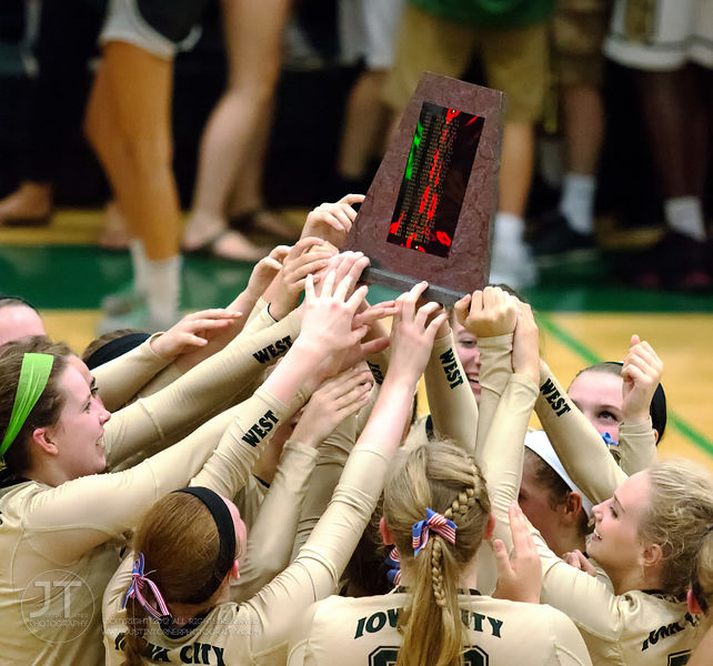 09/08/15 IAHSVB Iowa City West vs Iowa City High