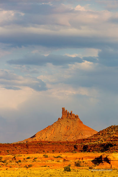 THE NEEDLES DISTRICT CANYONLANDS NATIONAL PARK UTAH COLOR VERTICAL