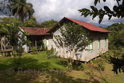 The house of the late renowned Ornithologist Dr. Alexander Skutch. Los Cusingos, Quizarra, Costa Rica.