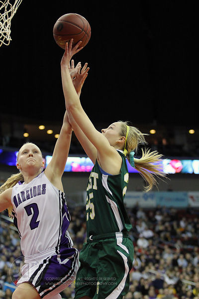 Iowa City West vs Waukee Girls Basketball 4A State Semi-Finals 3/2/12