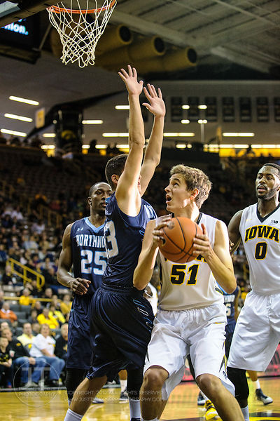 PC - Mens Basketball 110214 Iowa vs Northwood