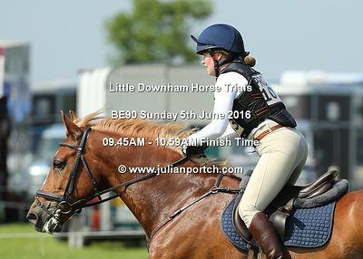 Little Downham Horse Trials - BE90 Sections (Sunday 5th June 2016)