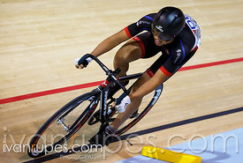Junior men's sprint qualification. Milton International Challenge, January 9, 2015