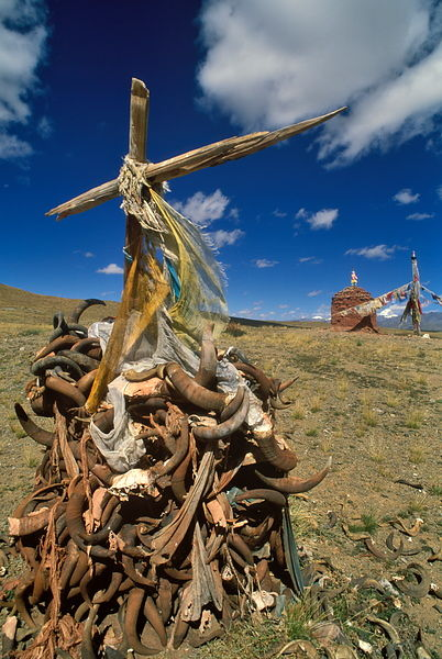 Chorten and Mt.Kailash